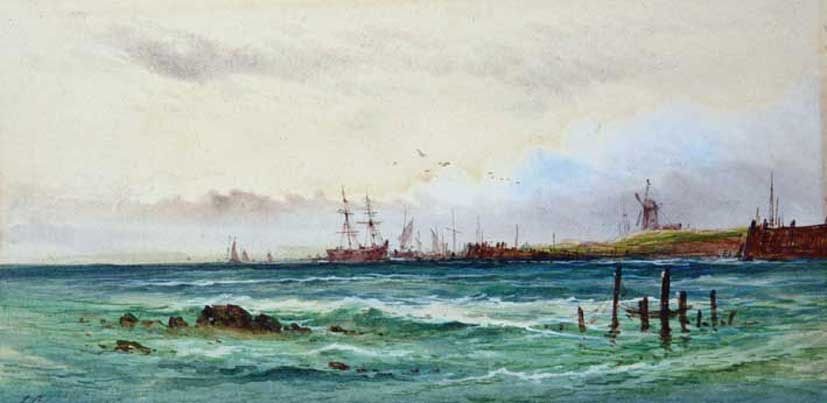 Fishermen returning from the Catch, Arderne Clarence