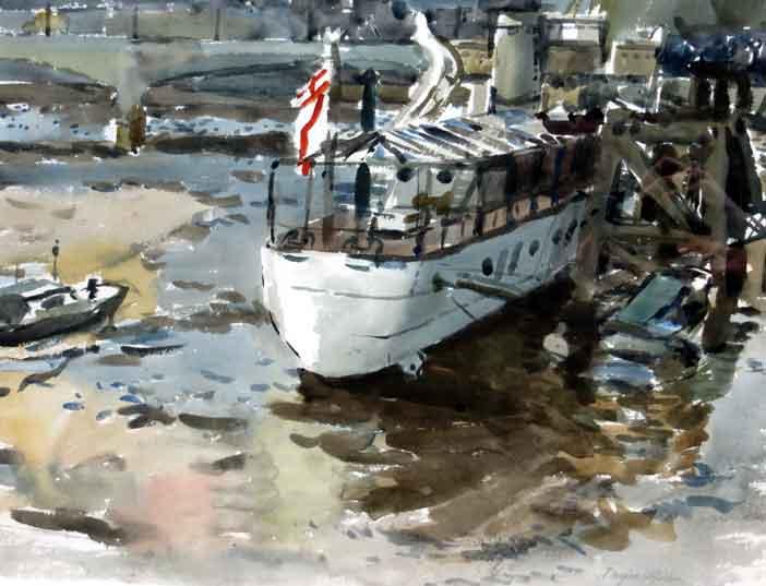 The Wellington, St Katherine's Dock, Douglas H. Holden