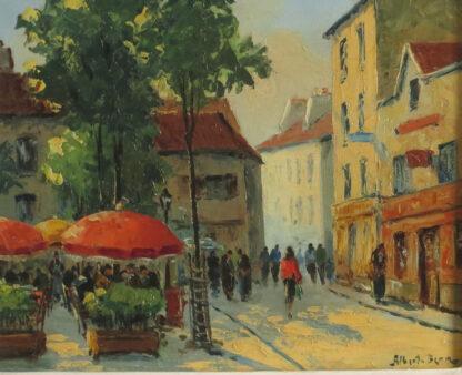 Painting of Paris by Albert Berne (1877-1973). American born artist. Oils on canvas.