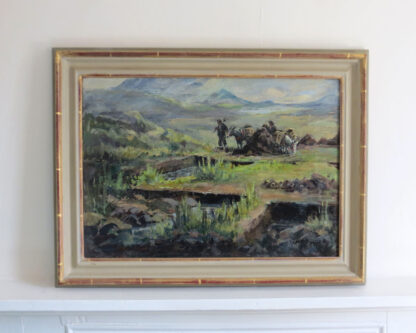 Pete Cutters Scotland Oil Painting by J.M. McCullock