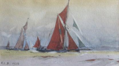 F.L. Blanchard Sailing Boat